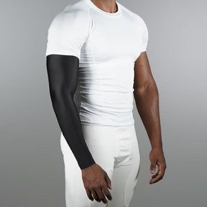 Sleefs Basic Black Compression Arm Sleeve (NEW)